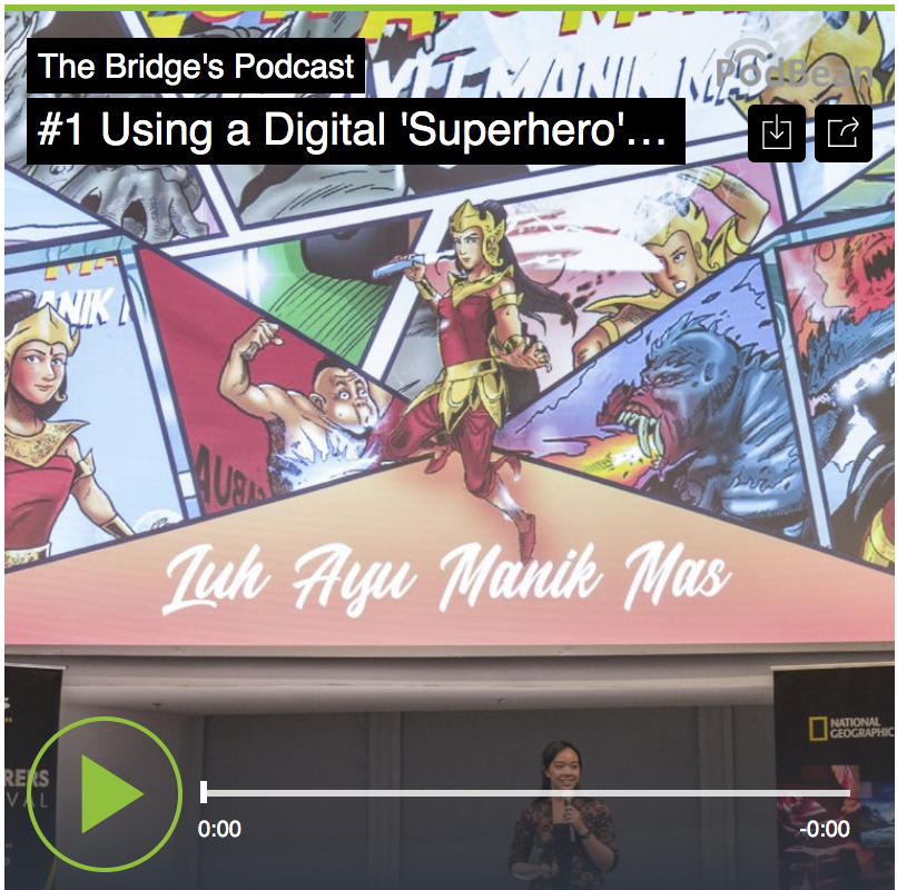#1 Using A Digital 'Superhero' In Environmental Activism – CLARA LISTYA DEWI