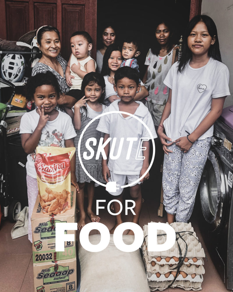 SKUTE For FOOD Campaign