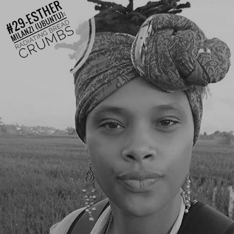 Esther Milanzi (Ubuntu): Radiating Bread Crumbs