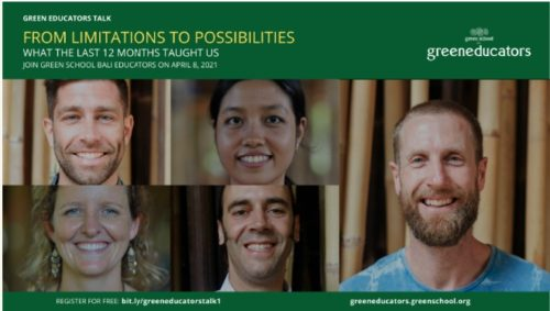 """""""From Limitations To Possibilities – What The Last 12 Months Taught Us"""" – Green Educators Talk"""